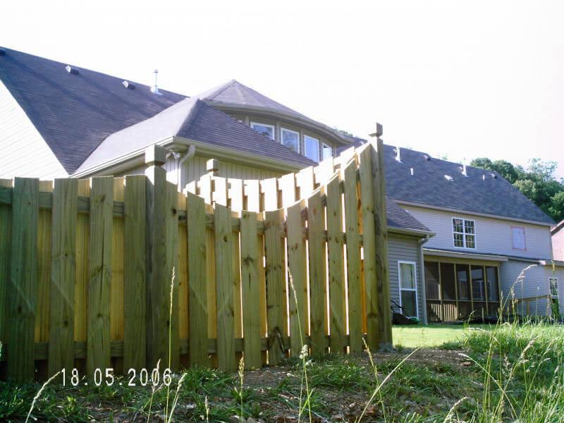 South Gate Fence Company Birmingham Al Wooden Fences